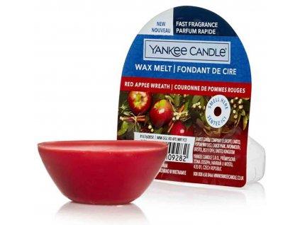 vyr 3256Vosk Yankee Candle Red Apple Wreath 22g