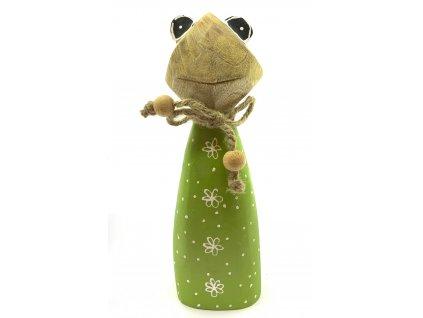 Dřevěná žába 69kč, 4ks