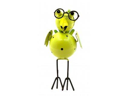 pták žlutý 29kč, 4ks