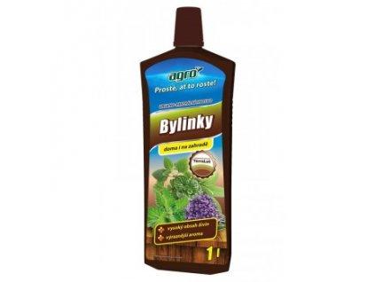 AGRO Organo-minerální kapalné hnojivo na bylinky 1 l