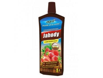 AGRO Organo-minerální kapalné hnojivo na jahody a drobné ovoce 1 l