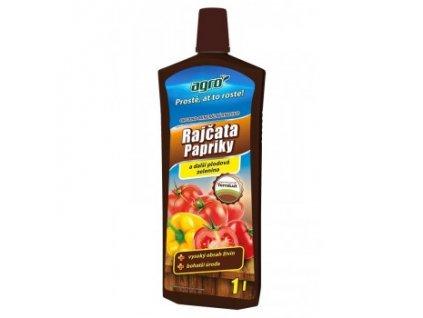 AGRO Organo-minerální kapalné hnojivo na rajčata, papriky a okurky 1 l