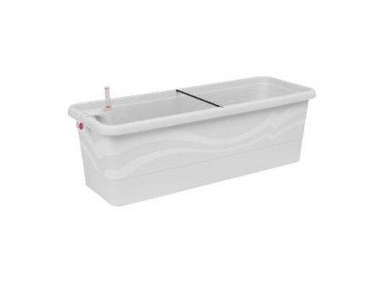 Samozavlažovací truhlík Smart Systém Gardenie 80 cm bílá