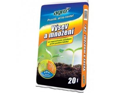 AGRO Substrát pro výsev a množení 20 L