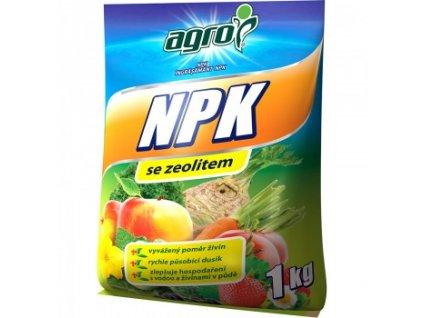 AGRO NPK 11-7-7 se zeolitem 1 kg