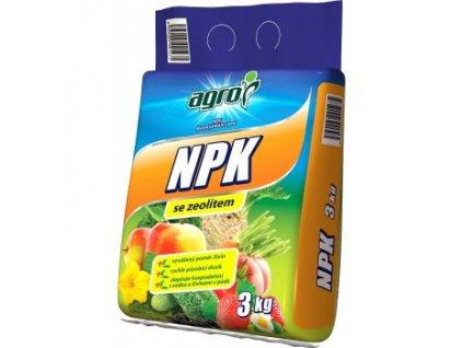 AGRO NPK 11-7-7 se zeolitem 3 kg