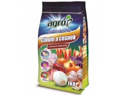 AGRO Organo-minerální hnojivo cibule a česnek 1 kg