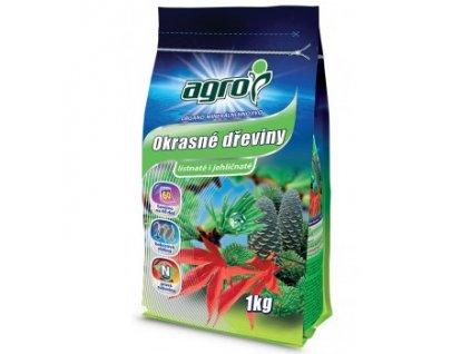 AGRO Organo-minerální hnojivo okrasné dřeviny 1 kg