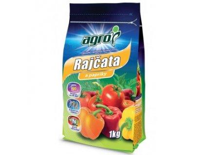 AGRO Organo-minerální hnojivo rajčata a papriky 1 kg