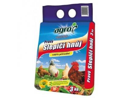 AGRO slepičí hnůj 3 kg