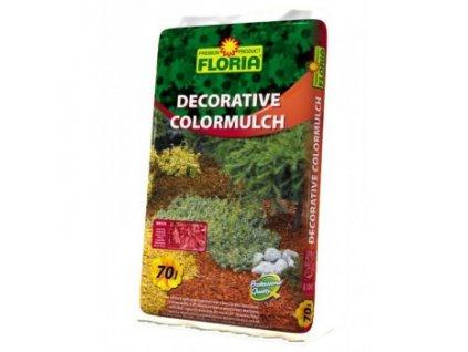 FLORIA Decorative ColorMulch CIHLOVÁ 70 L (Dekorativní mulčovací kůra)