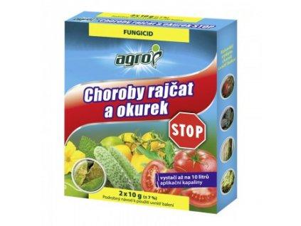 AGRO Choroby rajčat a okurek STOP 2 x 10 g