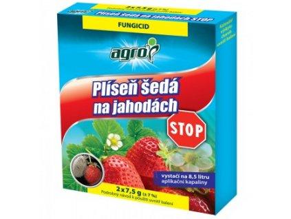 AGRO Plíseň šedá na jahodách STOP