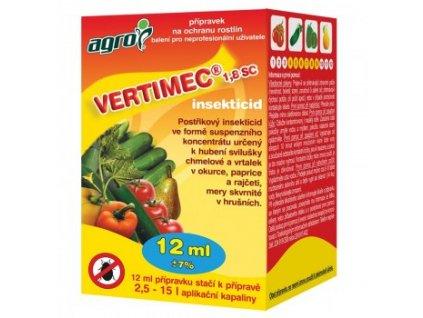 AGRO Vertimec 1,8 SC 12ml