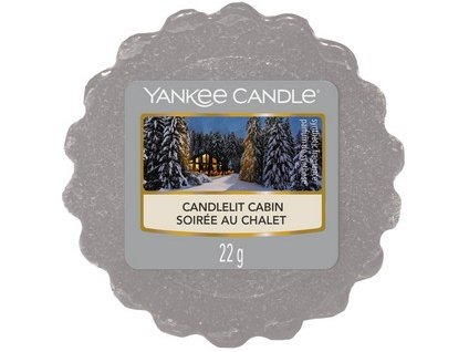 YANKEE CANDLE CANDLELIT CABIN VONNÝ VOSK DO AROMALAMPY