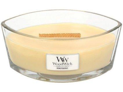 WoodWick Honeysuckle svíčka loď