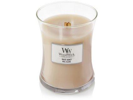 WoodWick White Honey váza střední