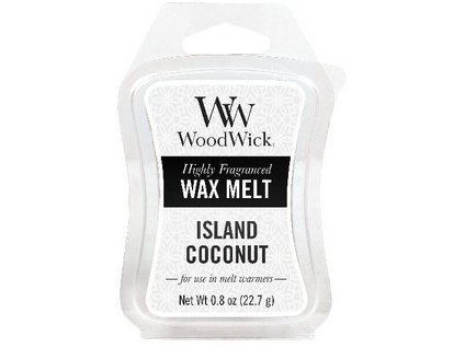 WoodWick Island Coconut vonný vosk