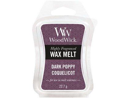 WoodWick Dark Poppy vonný vosk