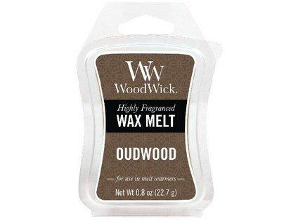 WoodWick Oudwood vonný vosk