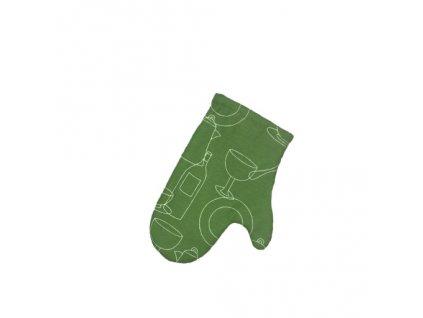 NÁDOBÍ chňapka zelená