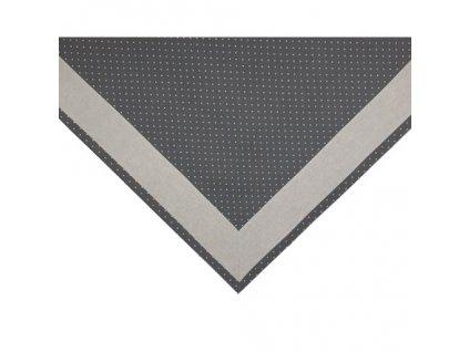 PUNTOS napron LEM2 šedý puntík+uni