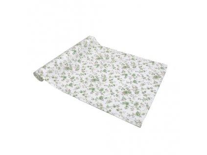 rococo běhoun zelený květ