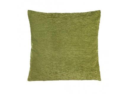 plyš polštář povlak zelený