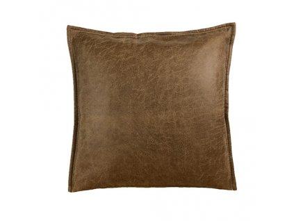 leather polštář povlak