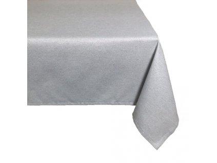 ubrus vánoce stříbro lurex UNI