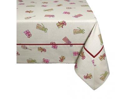 ubrus LEM vánoce dárečky