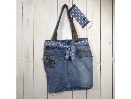 ZDEKOR kabelka jeanscm