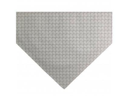 ZDEKOR napron=středový ubrus natur ornament90x90cm (rozměr 90x90)