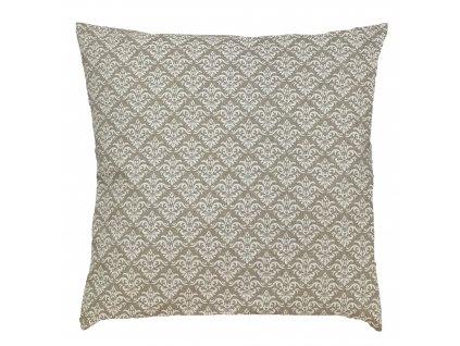 ZDEKOR polštář povlak natur ornament50x30cm (rozměr 50x30)