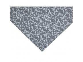 LOARA napron šedý vzor
