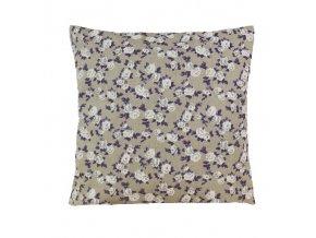 lila polštář povlak květ