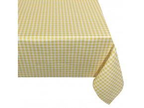 ZDEKOR ubrus jarra žluté pepitoO160cm (rozměr O160)