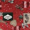 polštář povlak vánoce happy NY
