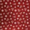 ZDEKOR polštář povlak vánoce nadílka červená50x30cm (rozměr 50x30)
