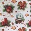 polštář povlak vánoce klasika svíčky