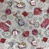 ZDEKOR běhoun vánoce baňka lila90x40cm (rozměr 90x40)