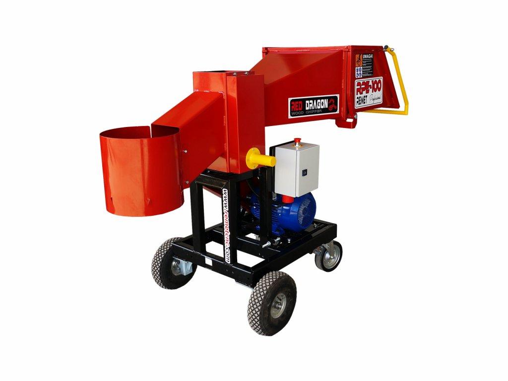 Špalíkovač RPE-100 PROFESSIONAL - 7,5 kW elektromotor