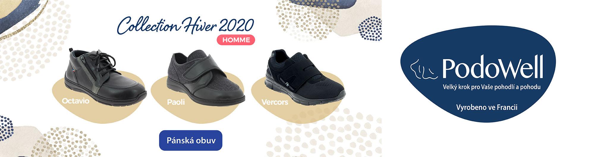Podowell, pánská obuv, zdravotní obuv