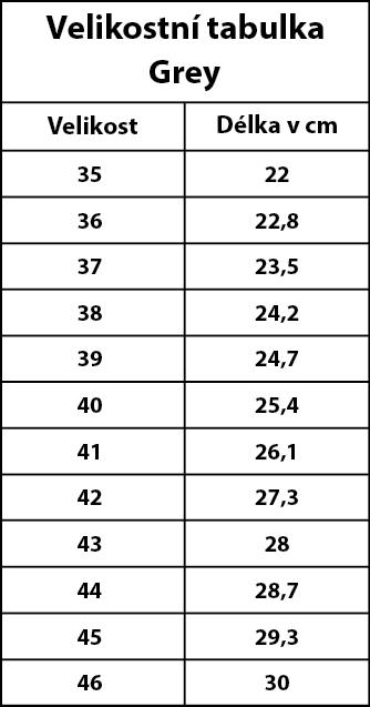 Grey-velikostní-tabulka