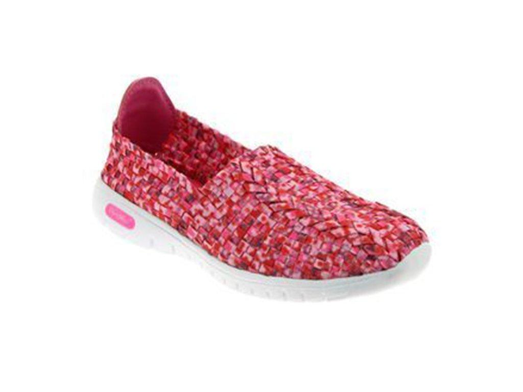 VEGAS sportovní obuv s paměťovou stélkou dámská růžová PodoWell