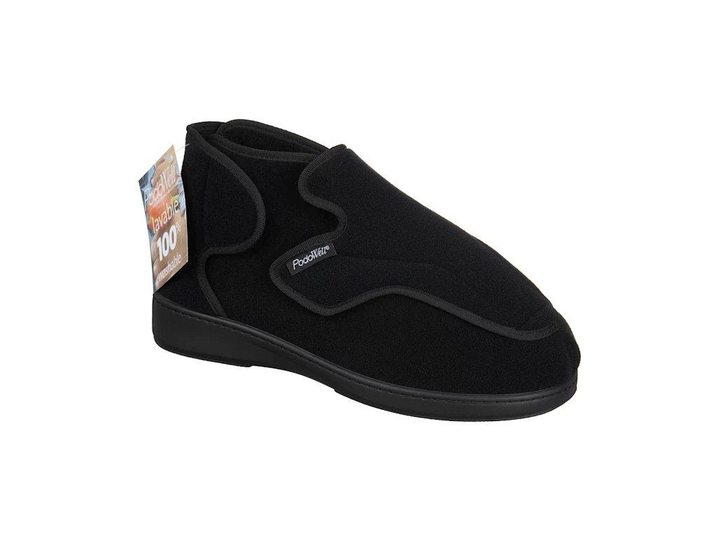 ALTITUDE zdravotní obuv pro extrémně oteklé nohy unisex černá PodoWell 8