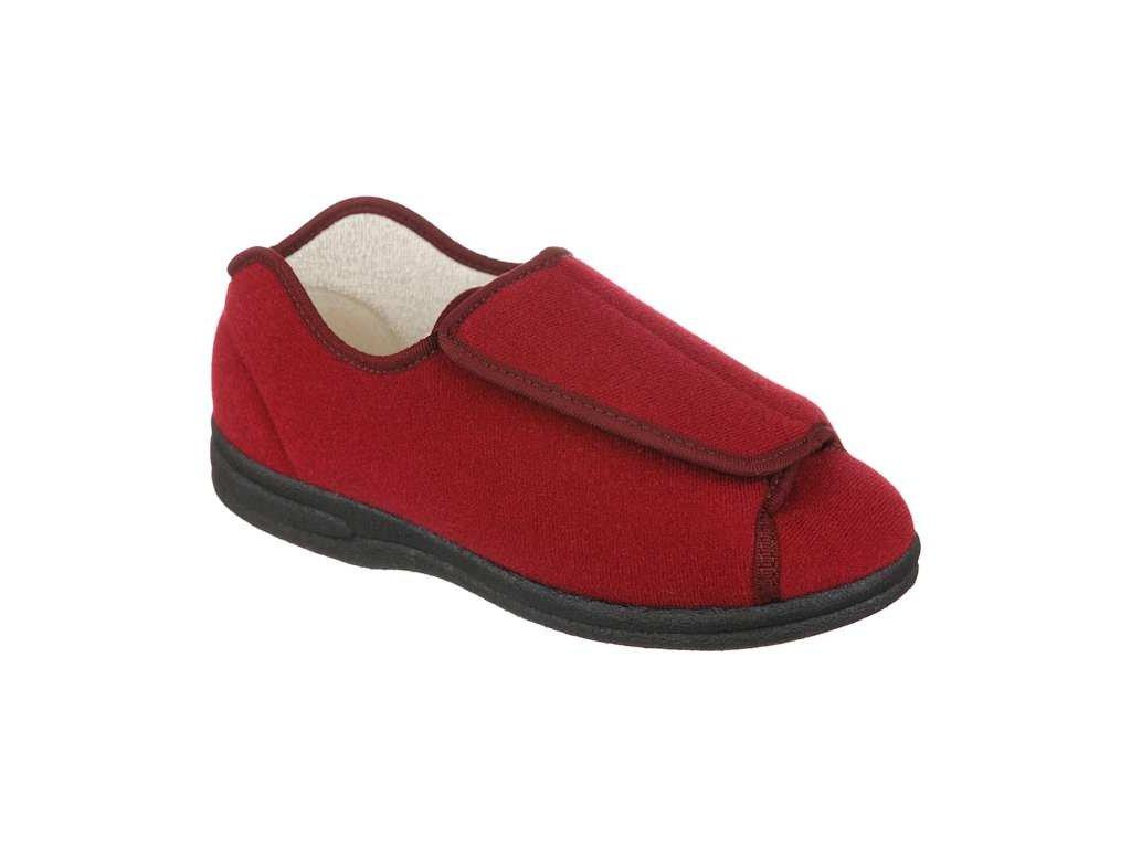 GRANIT zdravotní obuv pro oteklé nohy vínová PodoWell
