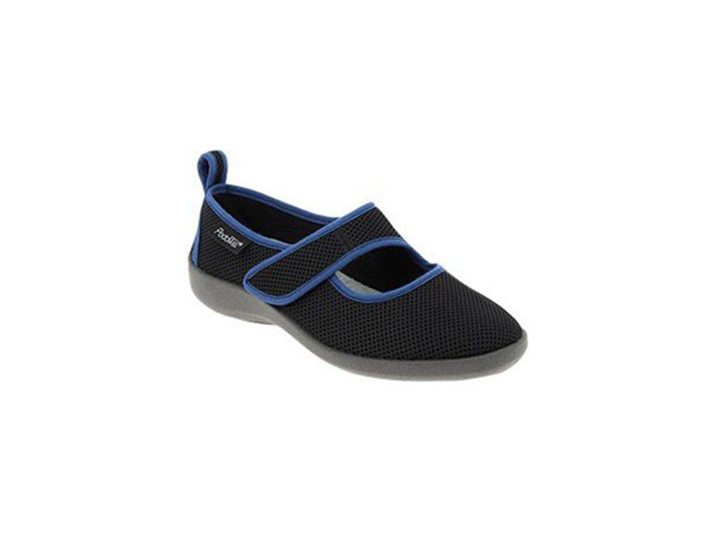 TARNOS stretch dámská obuv černá PodoWell