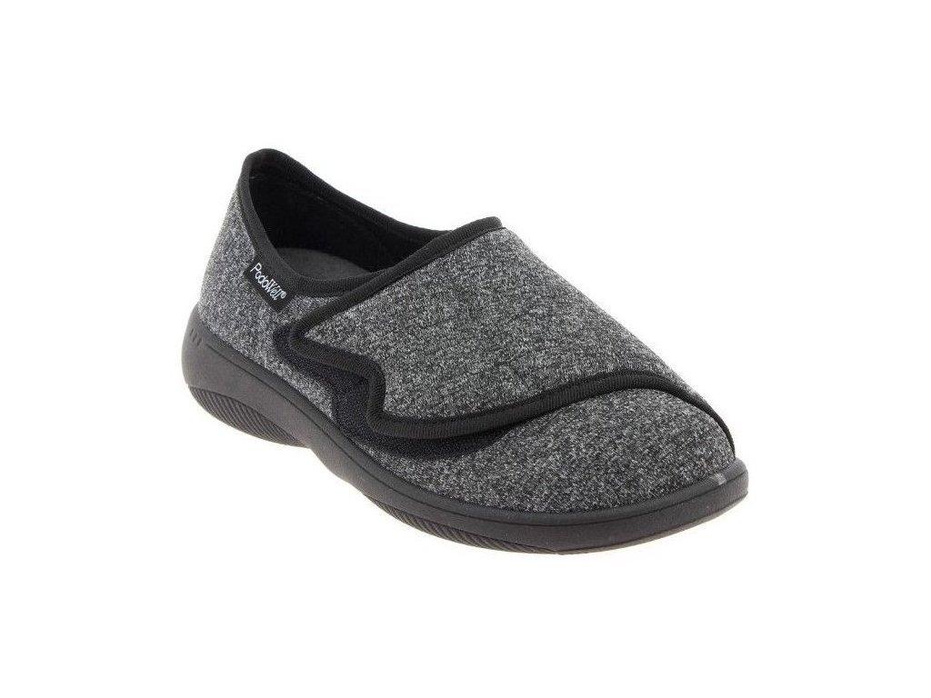 ARNAUD-zdravotní-obuv-černá-PodoWell