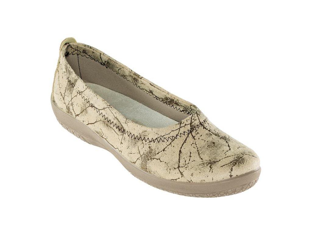 NOZ elastická obuv dámská béžová O2004A Nursing Care